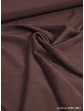 viscose dark brown