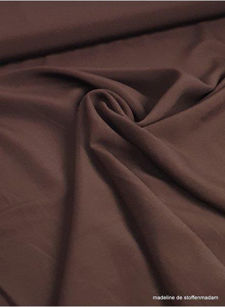 viscose dark brown