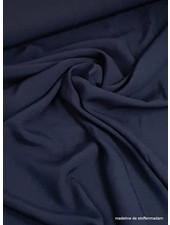 marineblauwe viscose