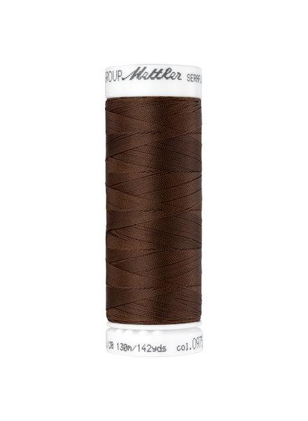 Mettler Seraflex - elastic thread - brown 0975