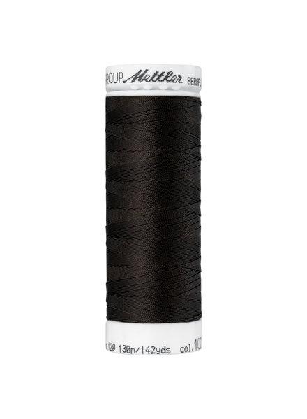 Mettler Seraflex - elastic thread - dark brown 1002