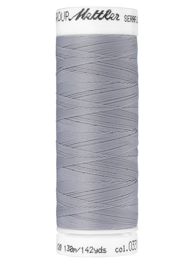 Mettler Seraflex - elastic thread - grey 0331