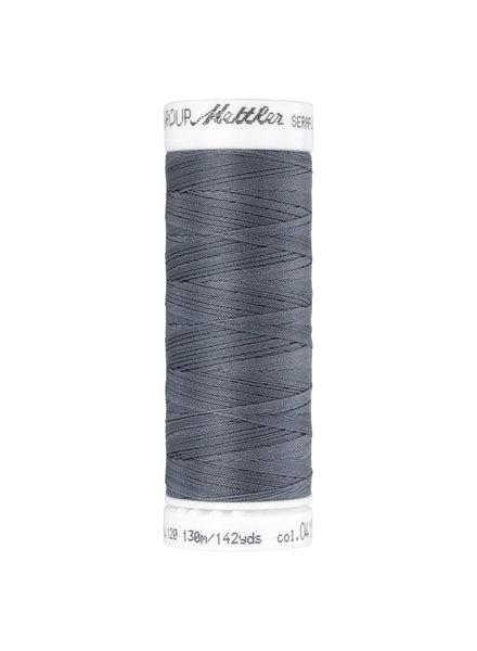 Mettler Seraflex - elastisch garen - grijs 0415