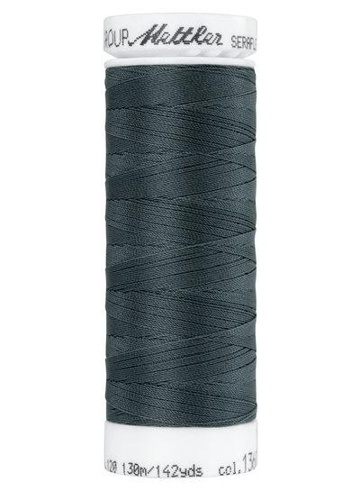 Mettler Seraflex - elastisch garen - donkergrijs 1360