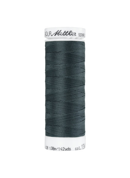 Mettler Seraflex - elastic thread - dark grey 1360
