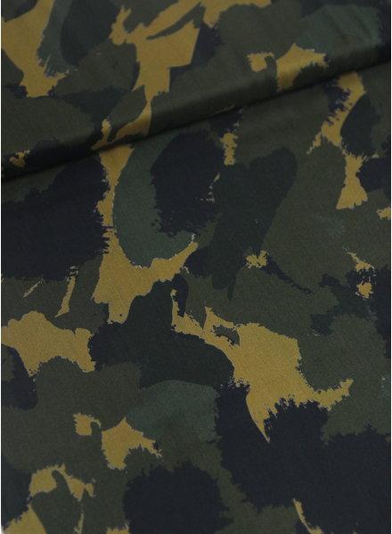 camouflage print - viscose