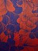 Fibremood purple flowers - satijn