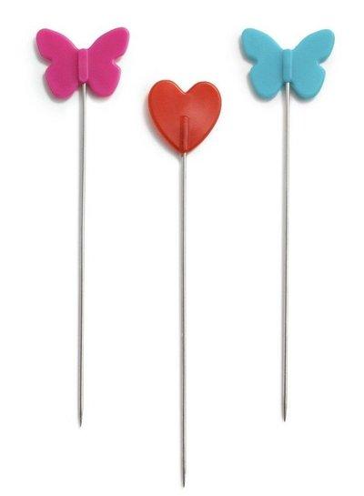 Love plastic-headed pins