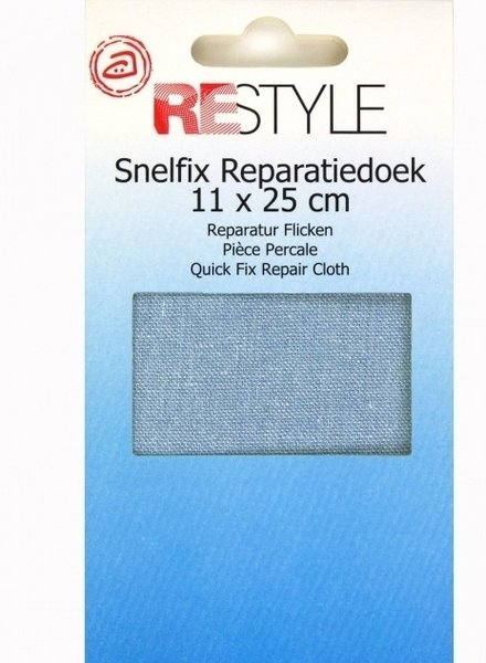 jeans repair cloth - light blue 235