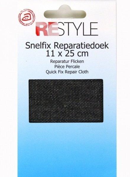 snelfix reparatiedoek  zwart