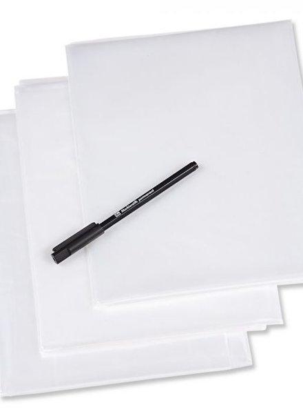 Prym Plastic tracing sheets