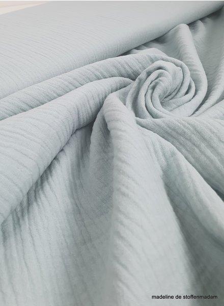 light mint muslin fabric