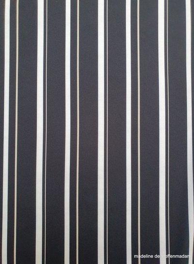 classy vertical stripes - polyviscose