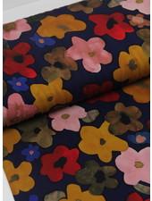 La Maison Victor Ursula dress - LMV colored flowers - viscose