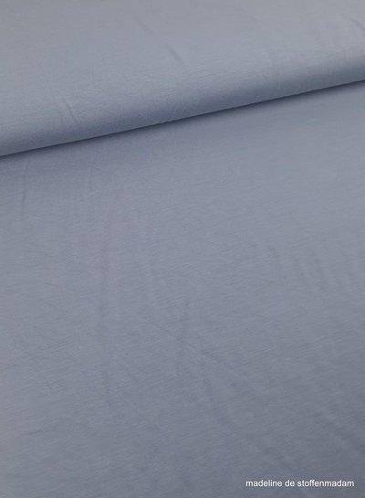 dusty blue modal tricot - topkwaliteit