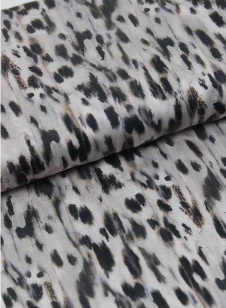 La Maison Victor LMV luipaard print - satijn viscose