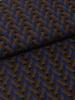 La Maison Victor bruin geometrische print - soepelvallende stof