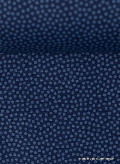 Swafing bolletje kobaltblauw - katoen