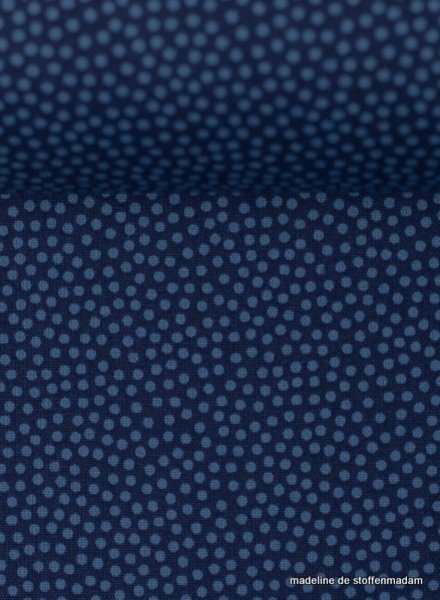 Swafing dots cobalt blue- cotton
