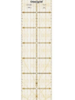 Prym Omnigrid liniaal 10 x 45 cm