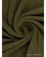 khaki spons - 160 cm breedte