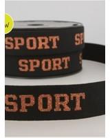 sport brons - taile elastiek 30mm