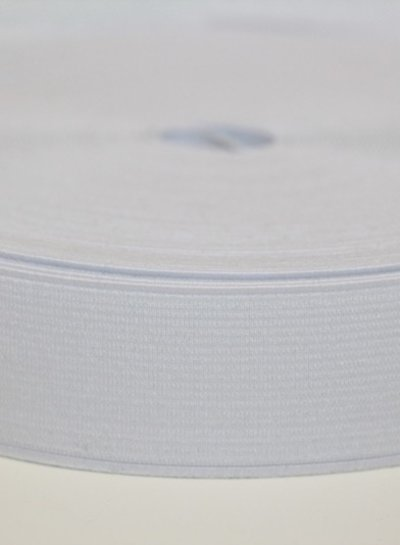 elastic 30 mm white