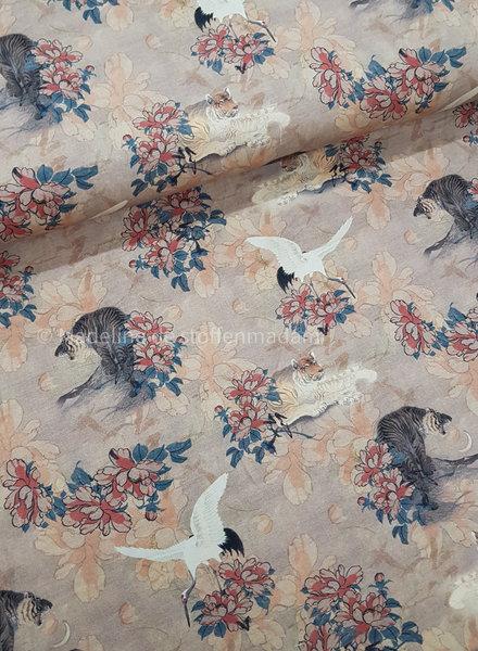 kraanvogels - digitaal tricot