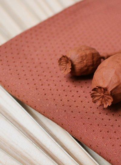Atelier Brunette Dobby chestnut - viscose