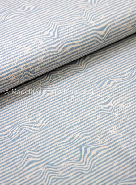 lichtblauw golven - tricot
