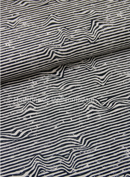bruin golven - tricot