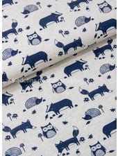 Benno blue animals - jersey