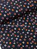 black dots - viscose jersey