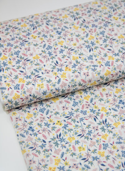 soft flowers - liberty look - cotton lawn