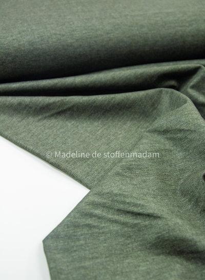 khaki gemeleerde denimlook - punta di roma