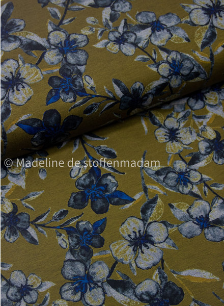 bloemen groen blauw - punta di roma