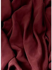 Ipeker - Vegan Textile bordeaux - cupro viscose - soft as silk