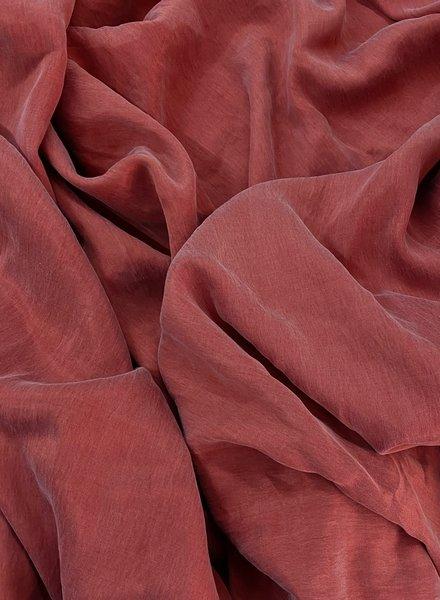 Ipeker - Vegan Textile cupro cotton - soft as silk - coral