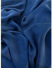 Ipeker - Vegan Textile kobaltblauw - cupro