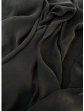 Ipeker - Vegan Textile caramel black - cupro