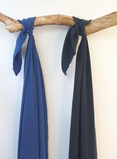 Ipeker - Vegan Textile cobalt blue - cupro