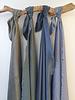 Ipeker - Vegan Textile cupro viscose - light kahki - beautiful structure -  soft as silk