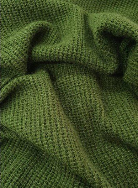 khaki - viscose sweater