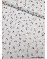 fall animals - cotton