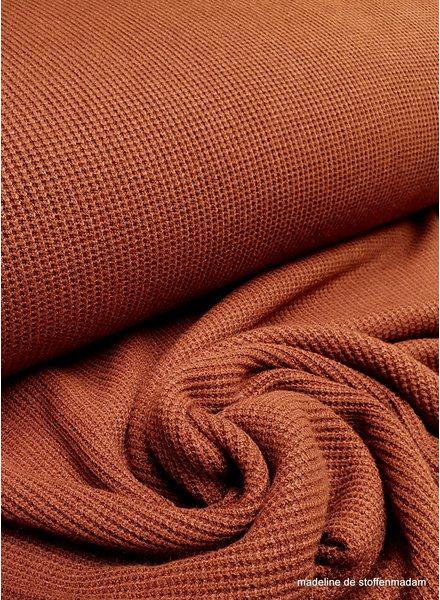 rust - viscose sweater