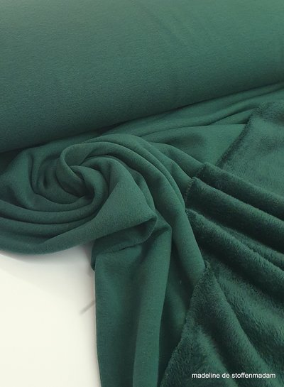 dark green - happy fleece