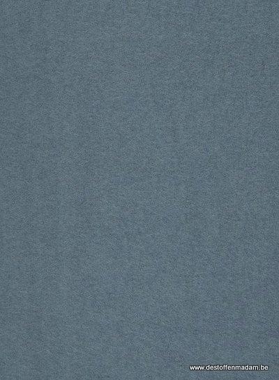 gekookte wol - wolvilt - boucle  ijsblauw