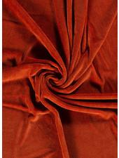 rust - bamboo towel fabric