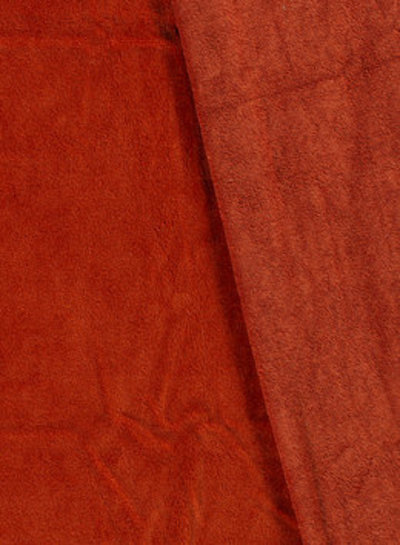 rust - bamboo towel fabric