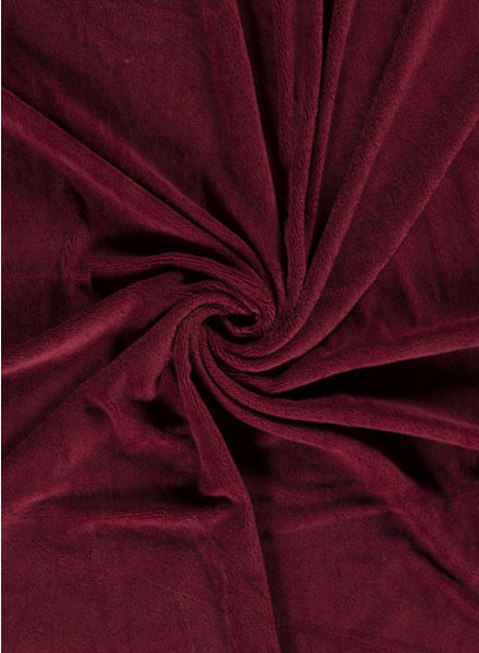 bordeaux - bamboo towel fabric